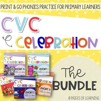 A CVC Celebration BUNDLE!