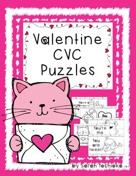 Valentines CVC Puzzles