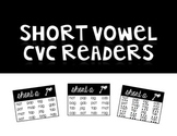 Short Vowel CVC Readers | Printer Friendly