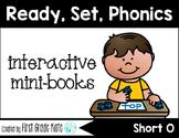 Short Vowel CVC Short O Interactive Mini Books (First Grade Phonics) FREEBIE