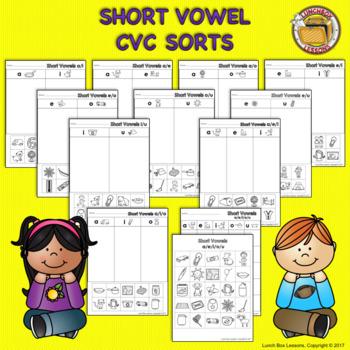 Short Vowel CVC Sorts