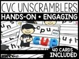 Short Vowels CVC Unscramblers