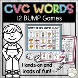 Short Vowel CVC Word Family - Bump Games - Literacy Center