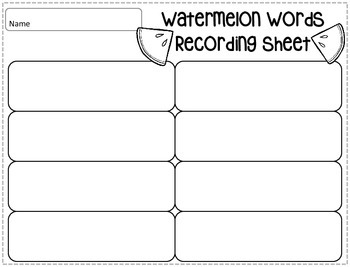 Short Vowel CVC Word Game, Kindergarten, First