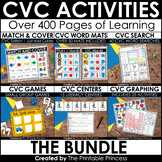 CVC Words BUNDLE {CVC Activities and Centers}