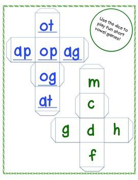 Short Vowel CVC practice