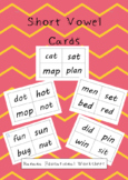 Short Vowel Cards