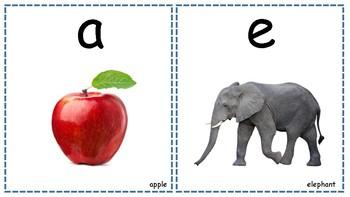 Short Vowel Cards