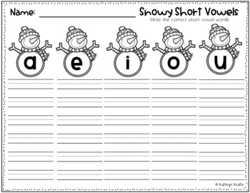 Short Vowel Center