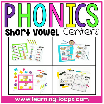 Short Vowel Center Activities