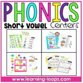 Short Vowel Center Activities