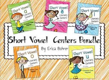 Short Vowel Centers Bundle
