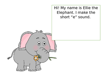 Short Vowel Characters
