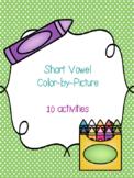 Short Vowel Color-By-Picture Bundle! {10 activities}
