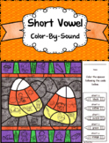 Short Vowel ~ Color By Sound ~ Candy Corn