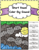 Short Vowel ~ Color By Sound ~ Halloween Bats