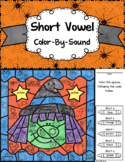 Short Vowel ~ Color By Sound ~ Halloween Witch