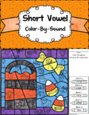 Short Vowel ~ Color By Sound ~ Trick-or-Treat Bag