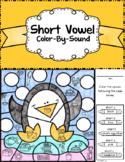 Short Vowel ~ Color by Sound ~ Penguin