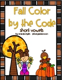Short Vowel Color by the Code