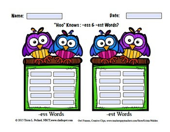 Word Sorts: Short Vowel Three Letter Word Families (Computer)