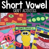 Short Vowel Craft Activities