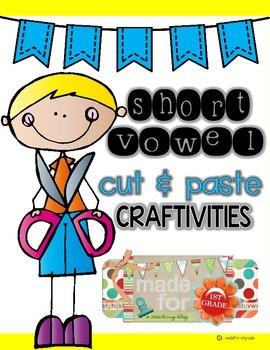 Short Vowel Craftivities