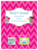 Short Vowel Cut and Paste Bundle