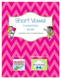 Short Vowel Cut and Paste Bundle