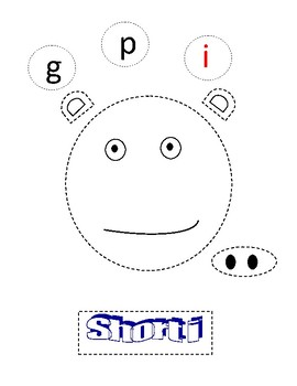 Short Vowel Cut and Paste Posters