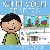 Short Vowel Decodable Phonics Reader