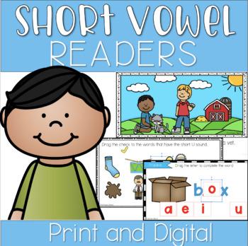 Short Vowel Decodable Phonics Reader