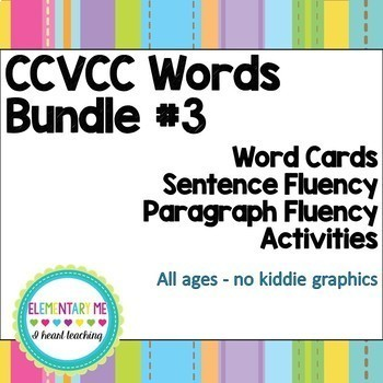 Short Vowel Decodable Reading BUNDLE CVC to CCVCC