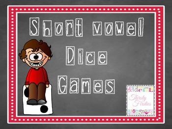 Short Vowel Dice Games