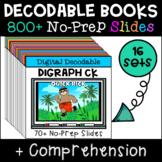 Short Vowel Digital Decodable Story GROWING BUNDLE