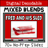 Short Vowel Digital Decodable Story with Consonant Blends