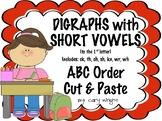 Short Vowel Digraphs ABC Order