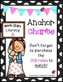Short Vowel, Digraphs, Floss Rule and CK Anchor charts for OG