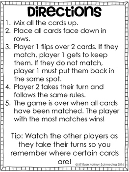 Short Vowel Digraphs Memory Game---Aligned with Reading Wonders Unit 5 Week 5