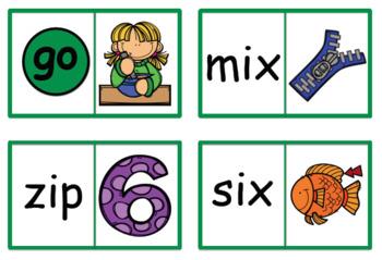 Short Vowel Dominoes Bundle