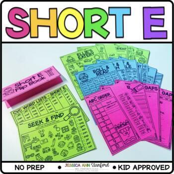 Short Vowel E