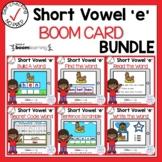 Digital Short Vowel E CVC Boom Cards℠ Bundle