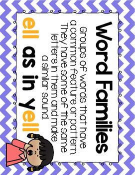 Short Vowel E Word Work {-ell Word Family}