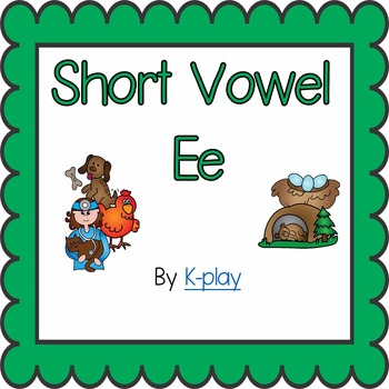 Phonics Short Vowel Ee - Games and Printables