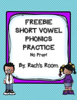 Short Vowel FREEBIE!