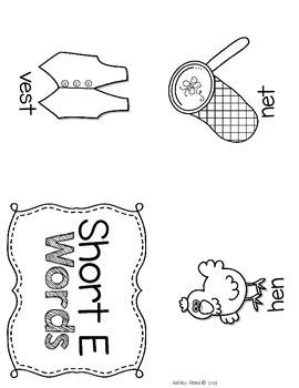 Short Vowel FREEBIE