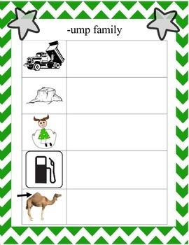 Short Vowel Families