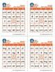 Reading Games: Short Vowel Families Bingo (LTR)