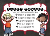 Short Vowel Families Roll & Write