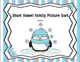 Short Vowel Family Sort Packet (a,e,i,o,u)